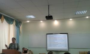 Выступление Л.А.Богдановой